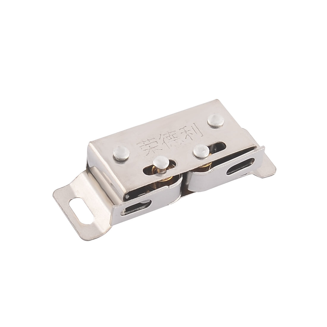 Drawer Cupboard Door 5cm Long Stainless Steel Double Ball Catch Latch