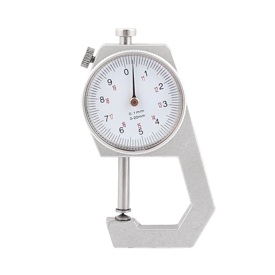 0 to 20mm Measuring Range 0.01mm Grad Round Dial Thickness Gauge C-03