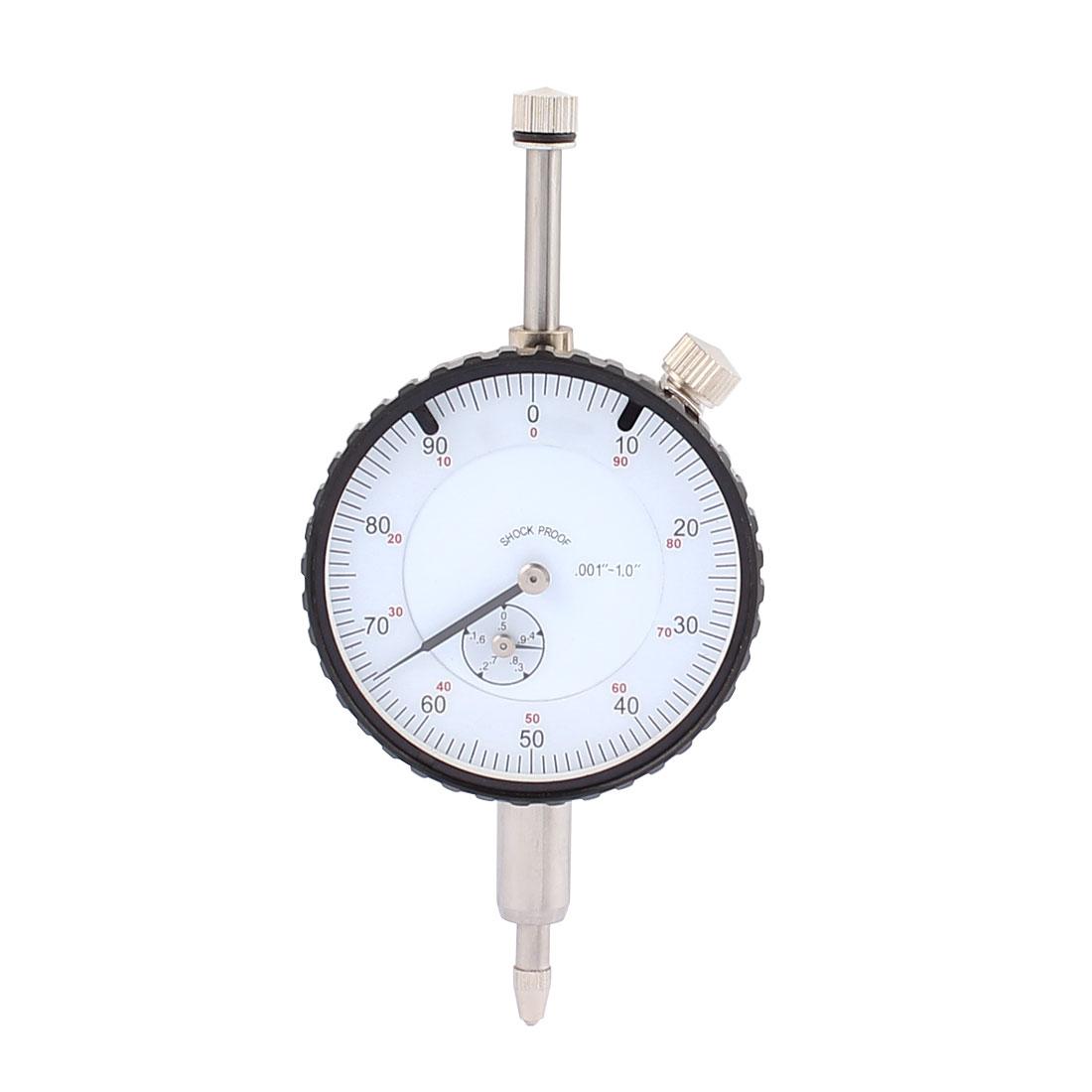 0-1inch Range Measurement Instrument Dial Indicator Gauge Precision Tool B-04