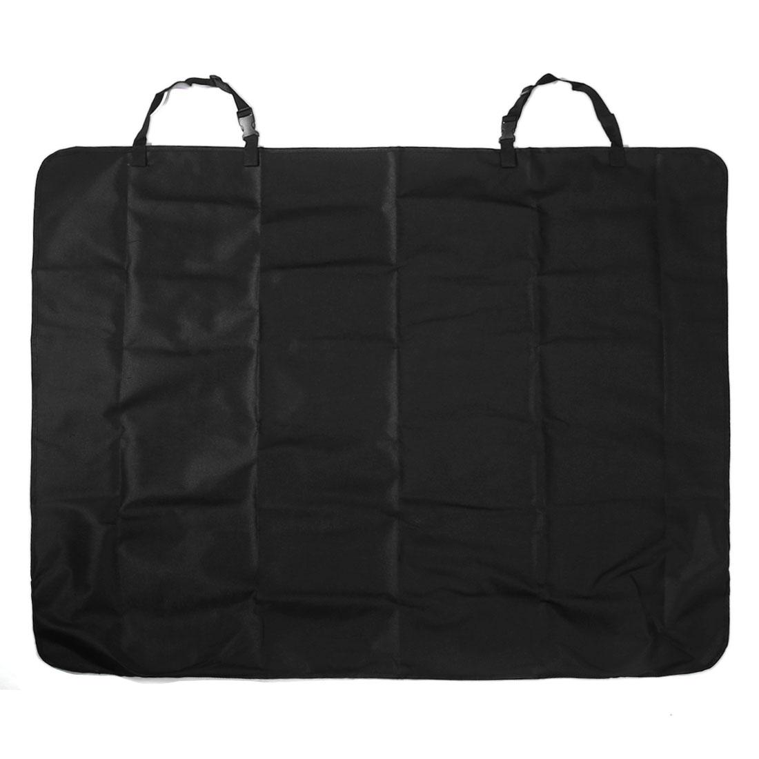 Black Waterproof Car Dog Cat Pet Rear Seat Cover Protector Mat Blanket 126cm x 100cm