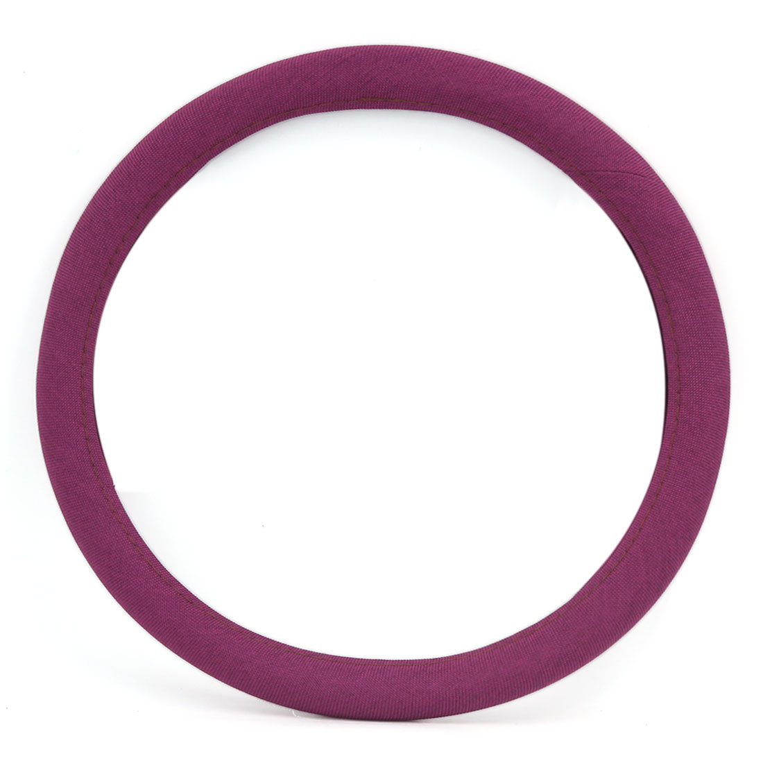 Four Seasons Universal Breathable Comfort Steering Wheel Cover Purple for Car