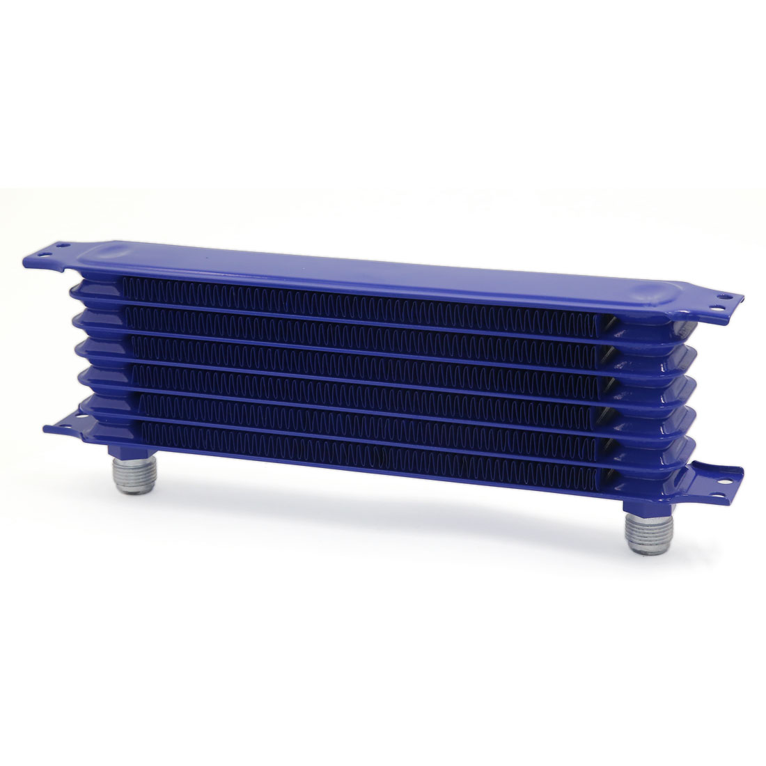 Blue Aluminum Oil Cooler Tank Core 7 Rows for Auto Car