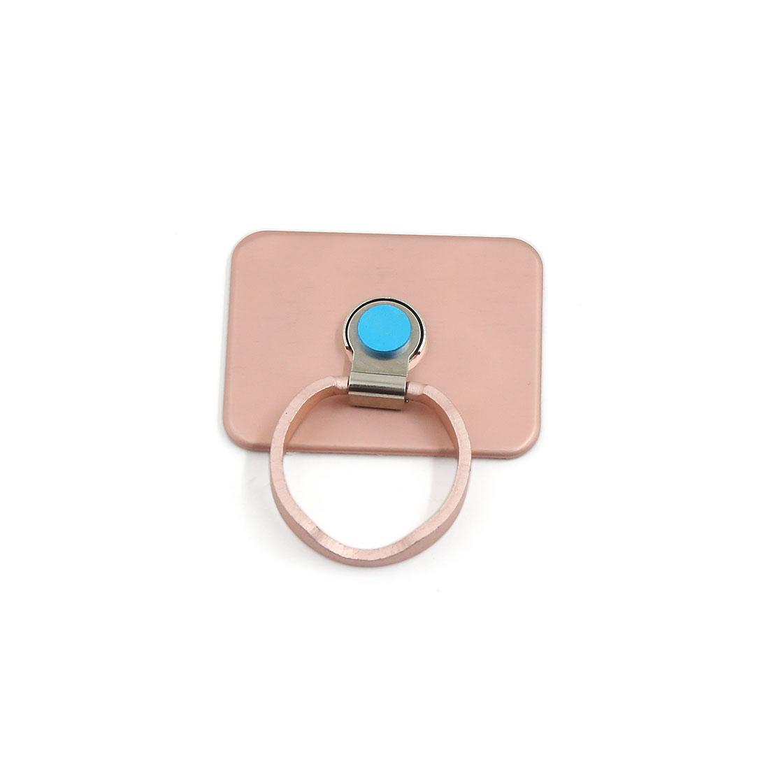 Universal Mobilephone Smart Phone Metal Ring Stent Holder Finger Grip Pink