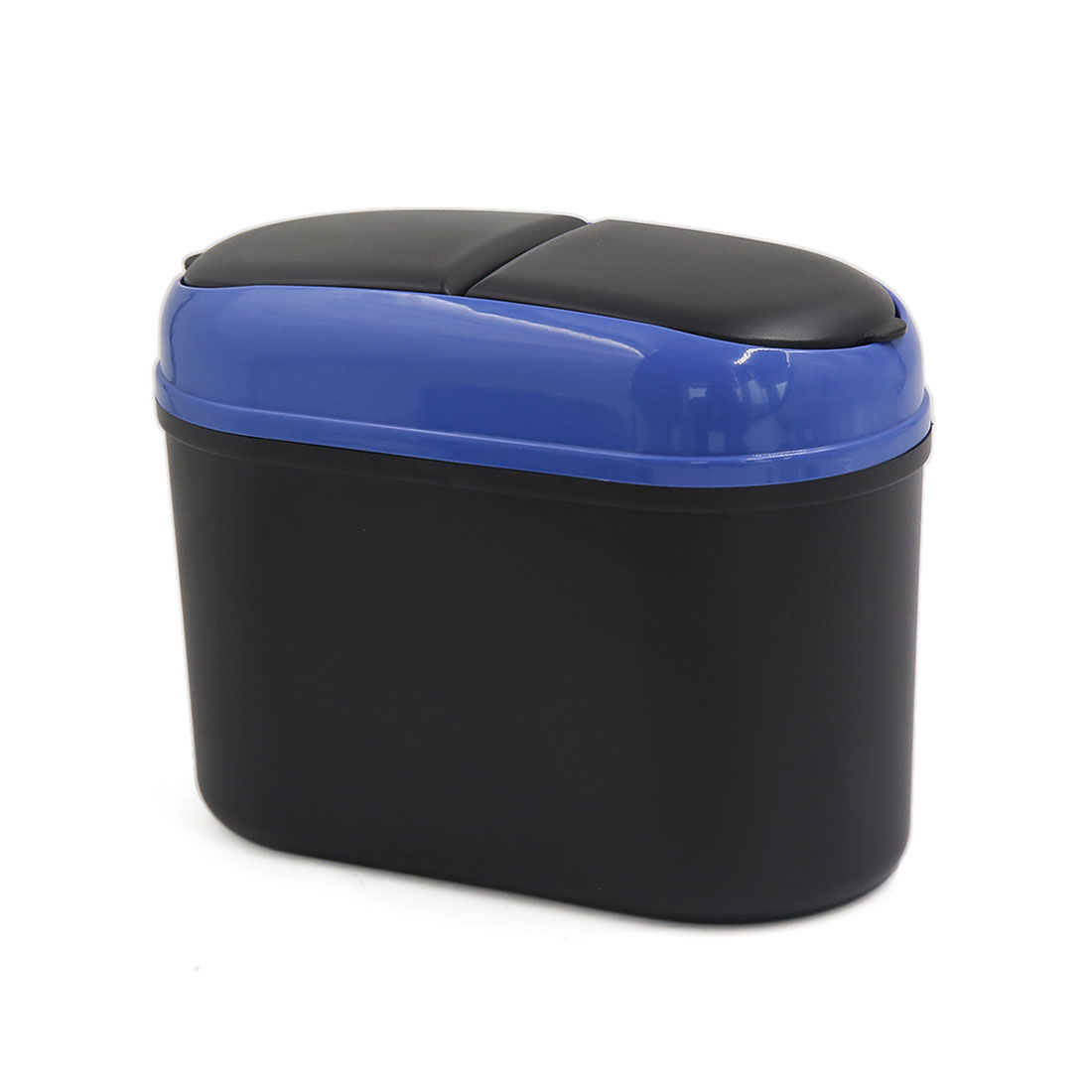 Mini Dustbin Box Two Opening Way Trash Rubbish Can Garbage Dust Case for Car SUV