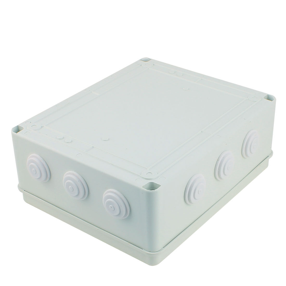 White ABS Dustproof IP65 Enclosure Square Junction Box 300x250x120mm