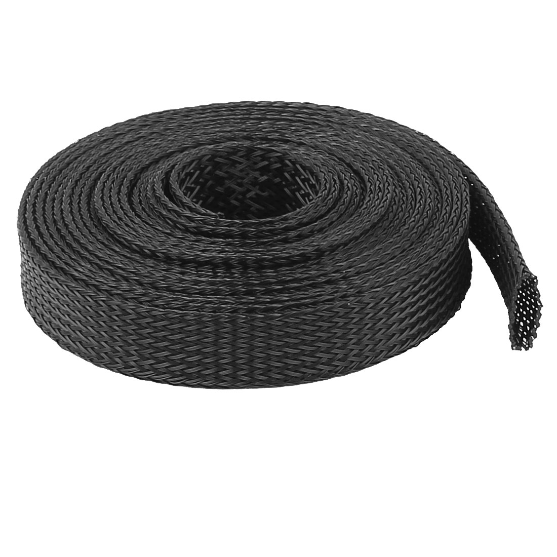 12mm PET Cable Wire Wrap Expandable Braided Sleeving 3 Meter