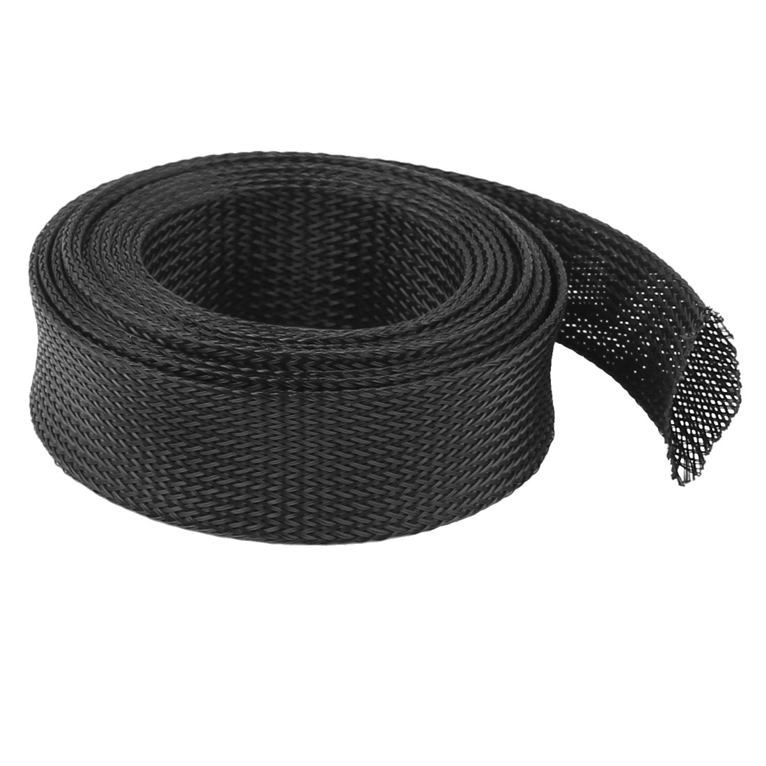 32mm PET Cable Wire Wrap Expandable Braided Sleeving 3 Meter