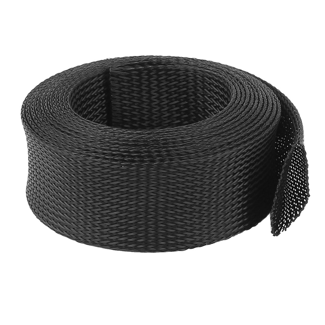 45mm PET Cable Wire Wrap Expandable Braided Sleeving 3 Meter