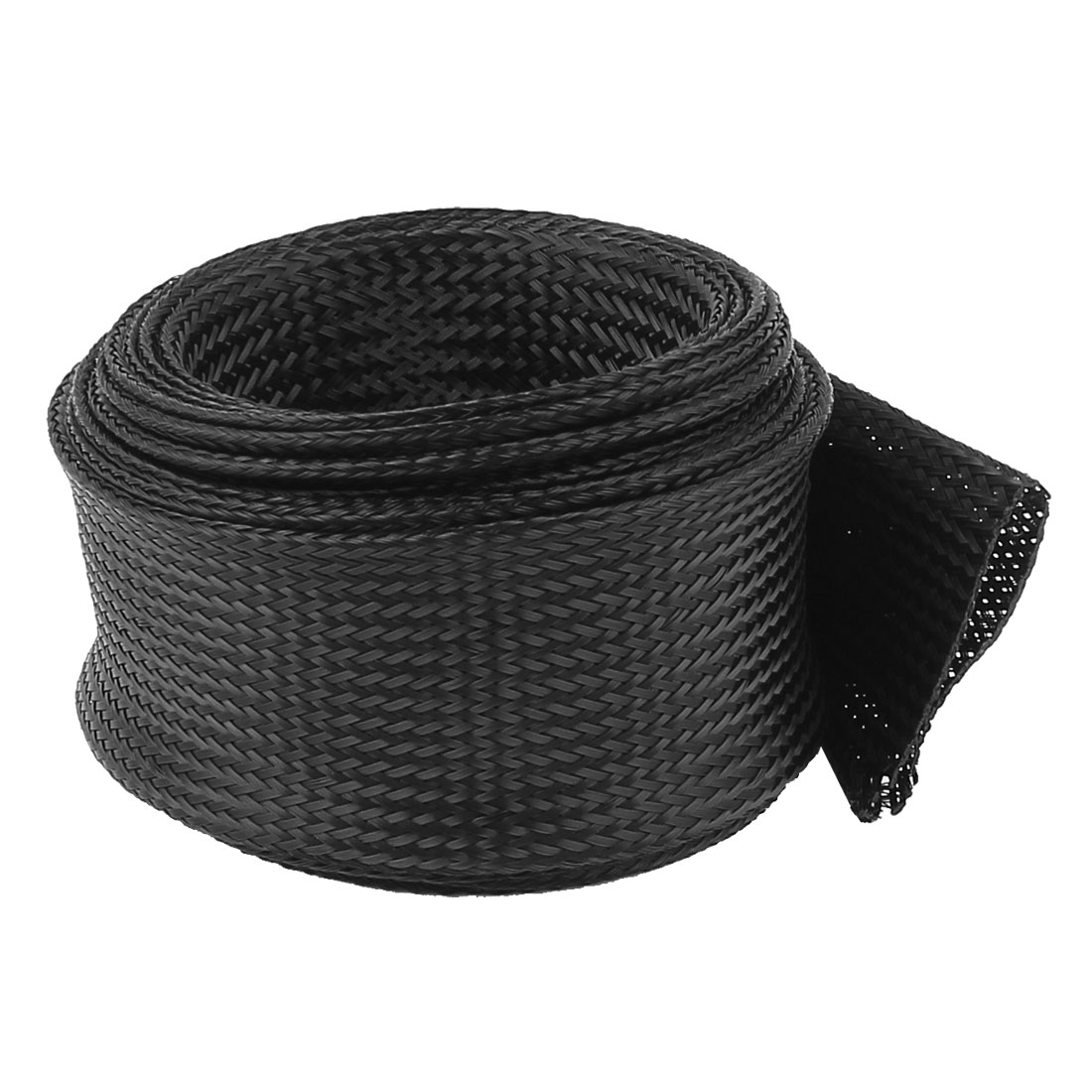 50mm PET Cable Wire Wrap Expandable Braided Sleeving 3 Meter