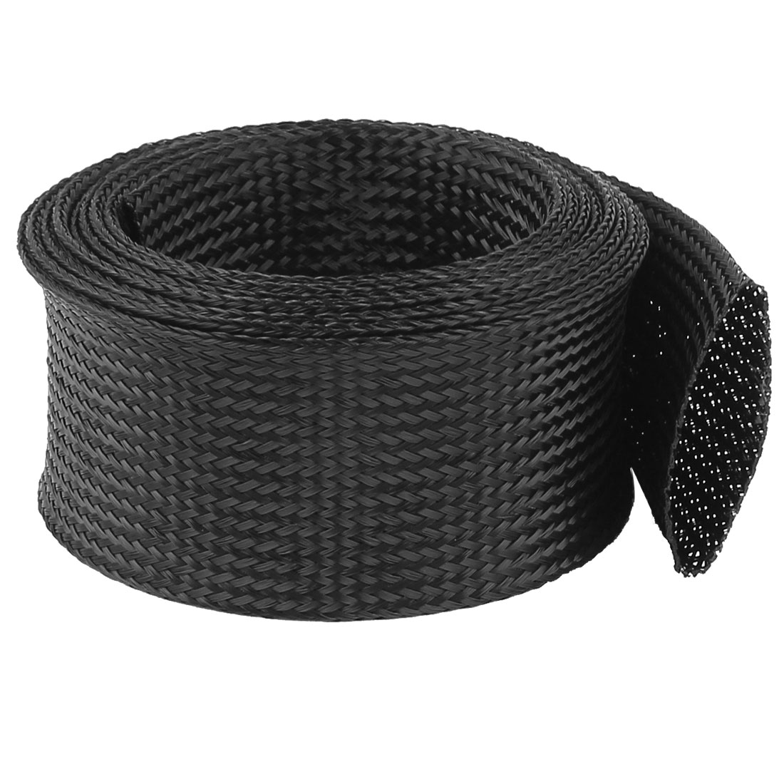 64mm PET Cable Wire Wrap Expandable Braided Sleeving 3 Meter