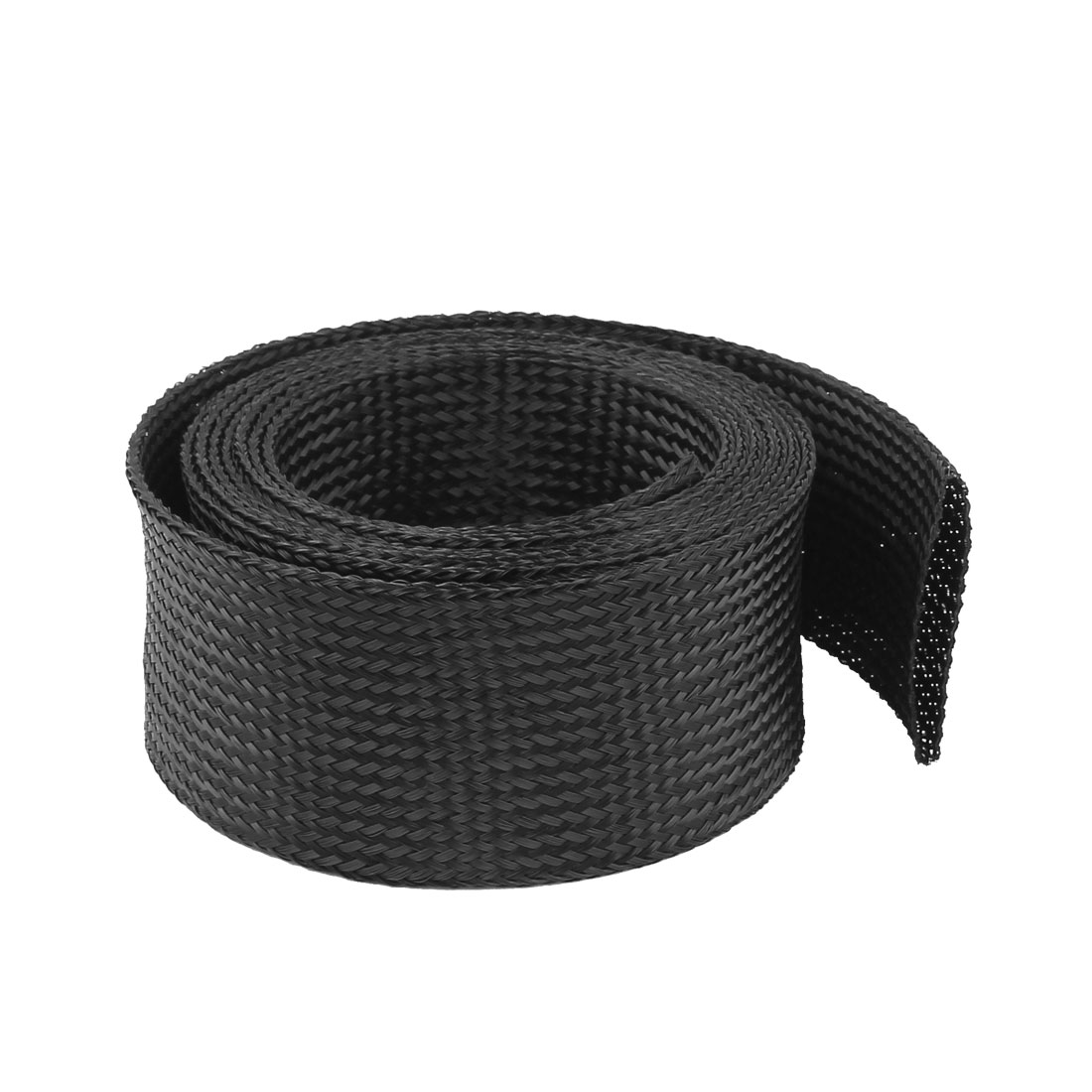 76mm PET Cable Wire Wrap Expandable Braided Sleeving 3 Meter