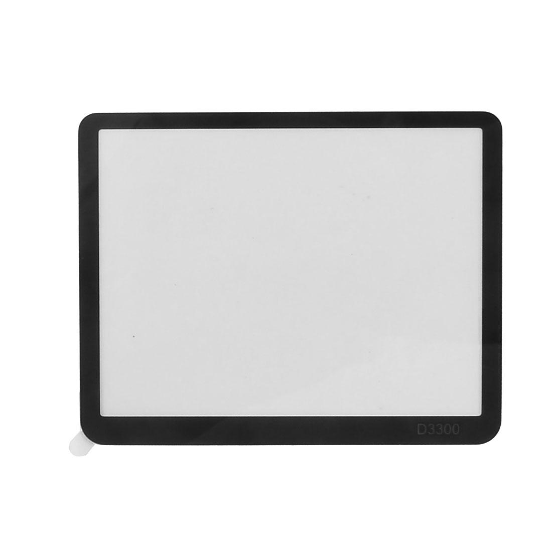 Digital Camera Optical Glass Anti-Scratch LCD Guard Camera Screen Protector Clear for Nikon D3100