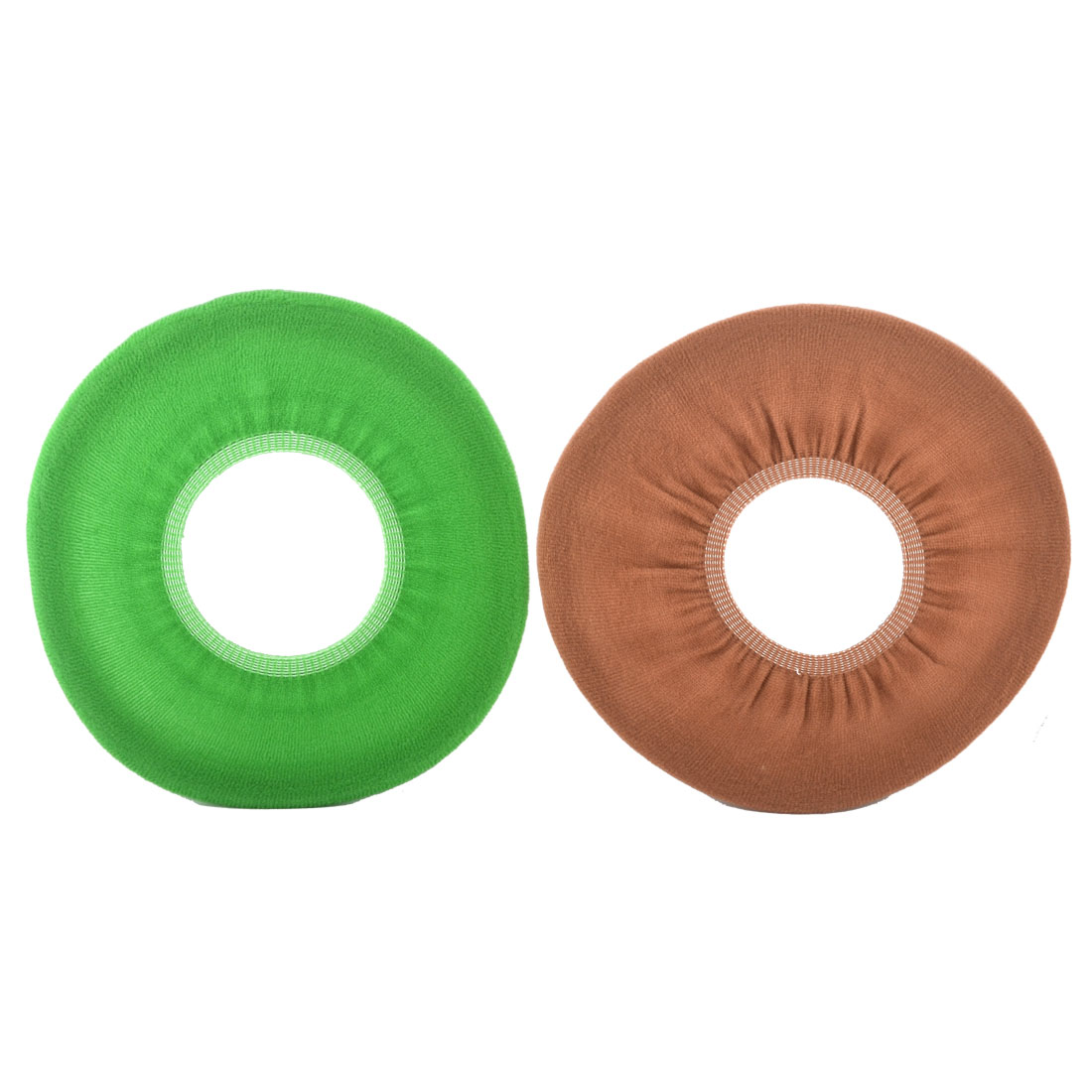 Houseware Polypropylene Fiber O-shaped Warmer Toilet Seat Cover Lid Mat Cushion 2pcs