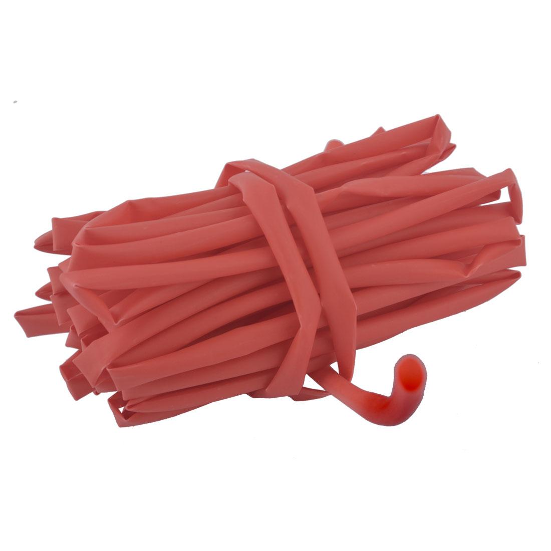 Polyolefin Sleeving Ratio 2:1 Shrink Heat Shrinkable Tube Red 5M