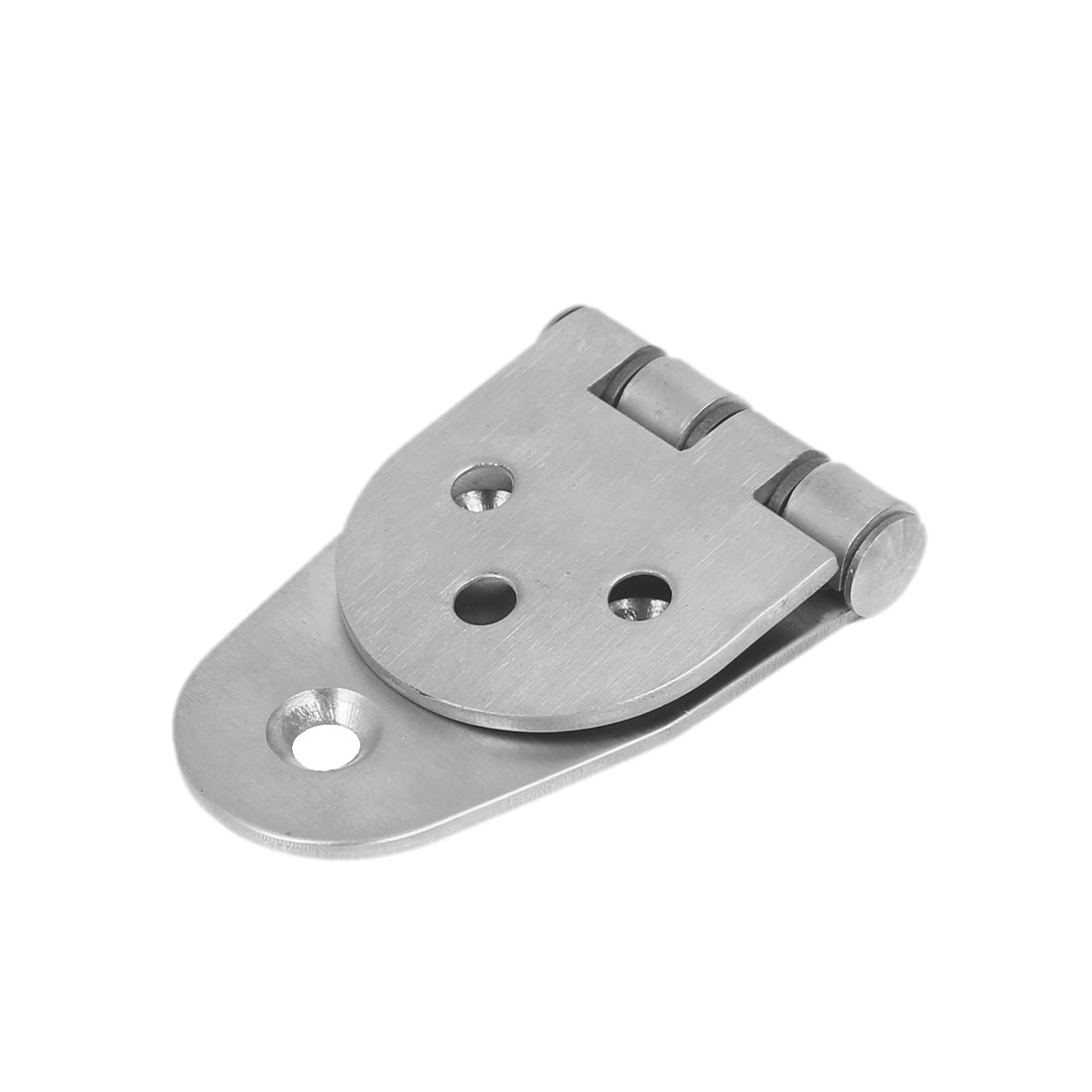 100mmx44mmx10mm Stainless Steel 270 Degree Door Bearing Hinge Silver Tone