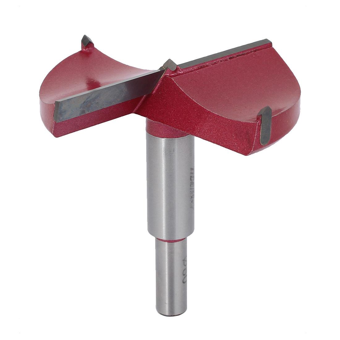 80mm x 87.5mm TCT Auger Carbide Tip Kit Wood Forstner Drill Hinge Boring Bit