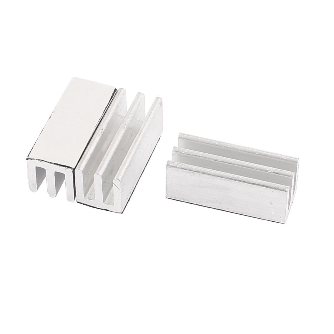 3Pcs Extruded Aluminum Heatsink 25 x 10 x 10mm Chip CPU VGA RAM LED IC Radiator