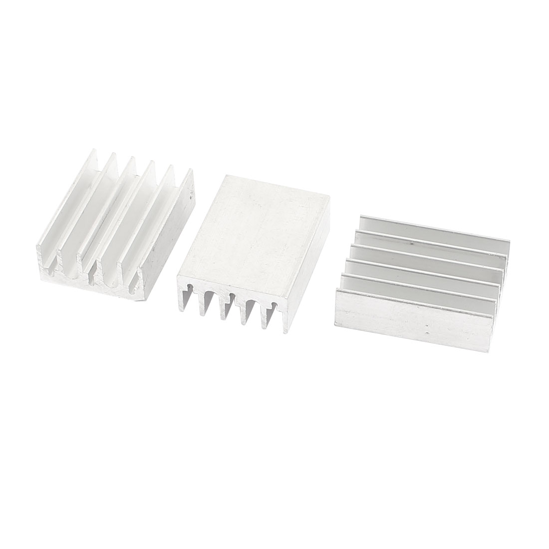 3 Pcs Aluminum Heatsink Cooler Cooling Fin 30 x 22 x 10mm for IC CPU Chipest