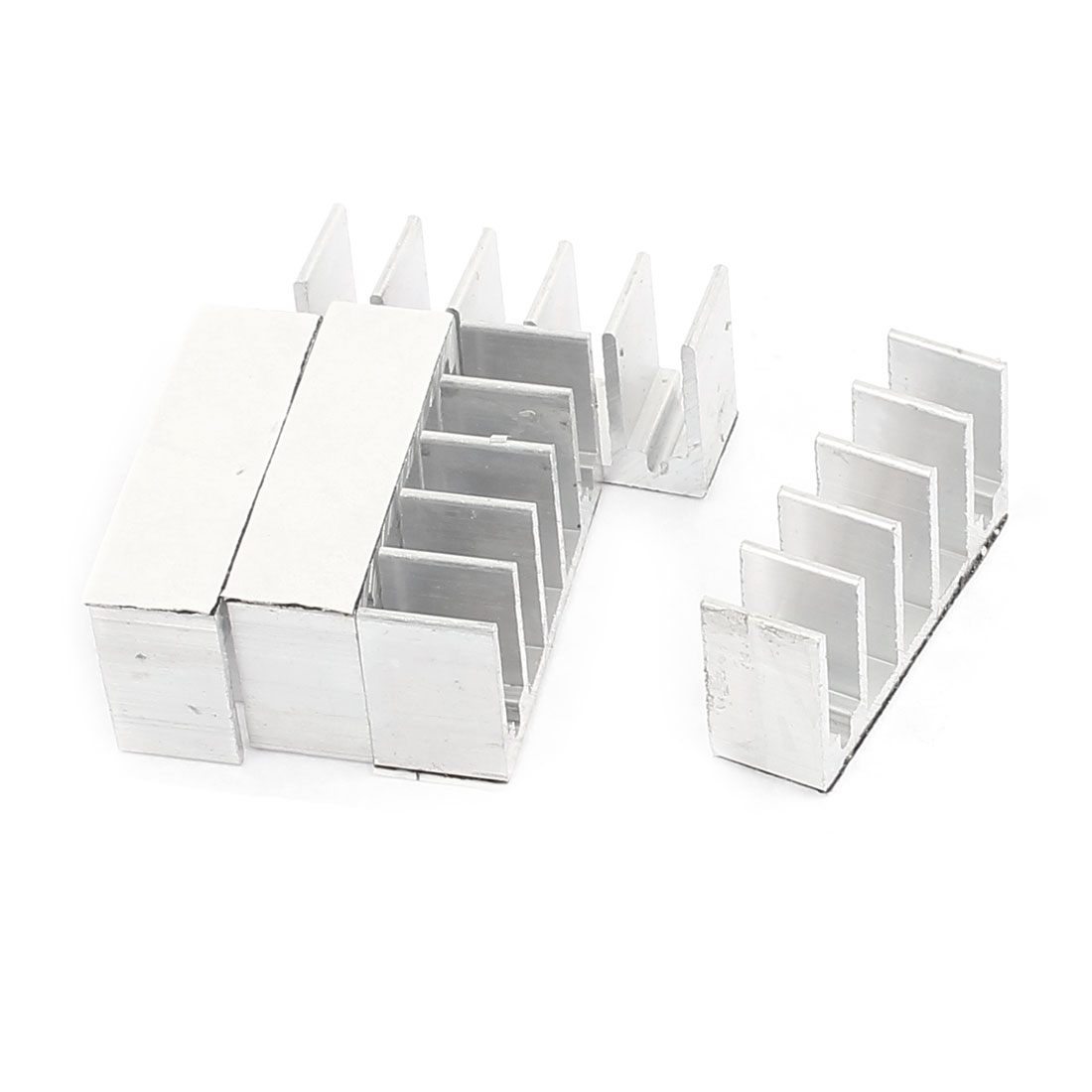 5 Pcs Aluminium Heatsink Heat Sink Cooling Fin 8 x 30 x 15mm for Chipset IC CPU