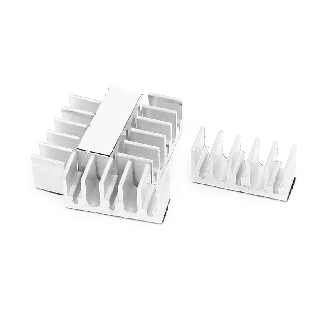 8 x 22 x 10mm Aluminum Heatsink Cooler Cooling Fin 5 Pcs for LED IC CPU Chipest