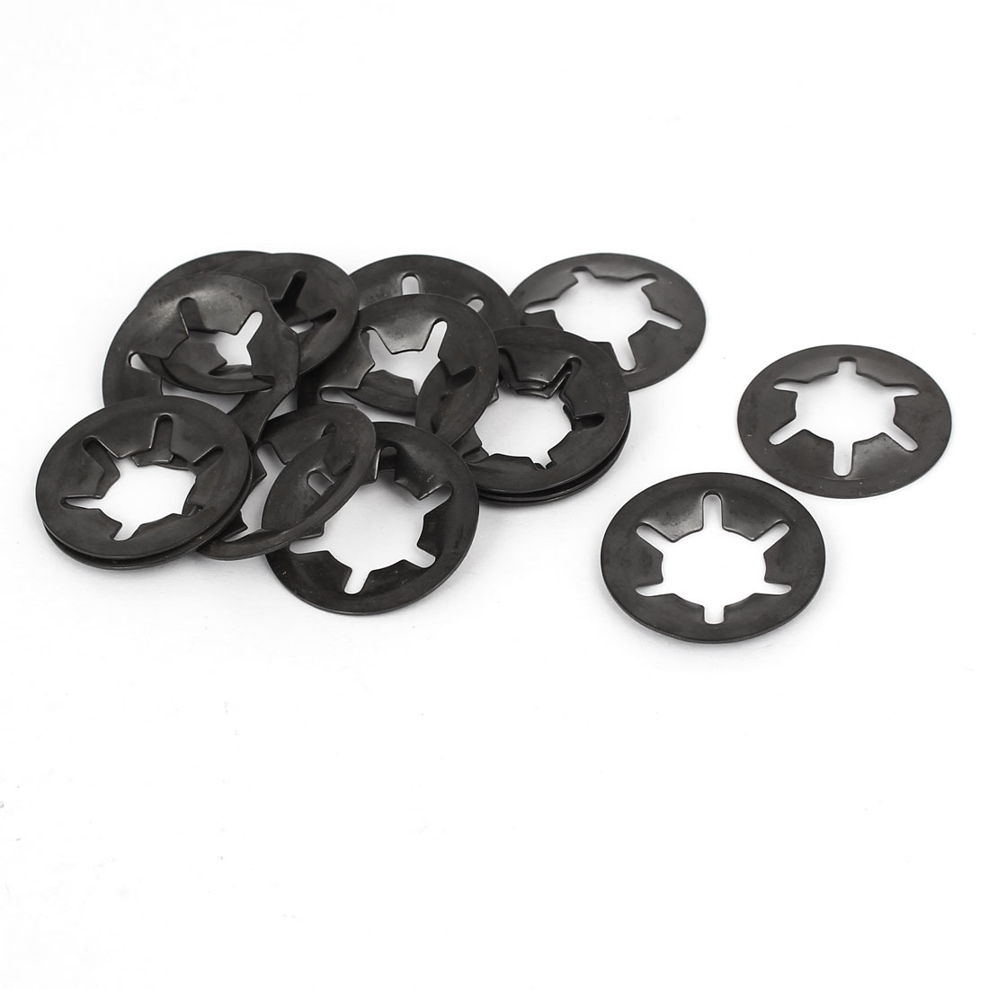 12mm x 25mm Internal Tooth Quicklock Speed Lock Starlock Washers 15PCS