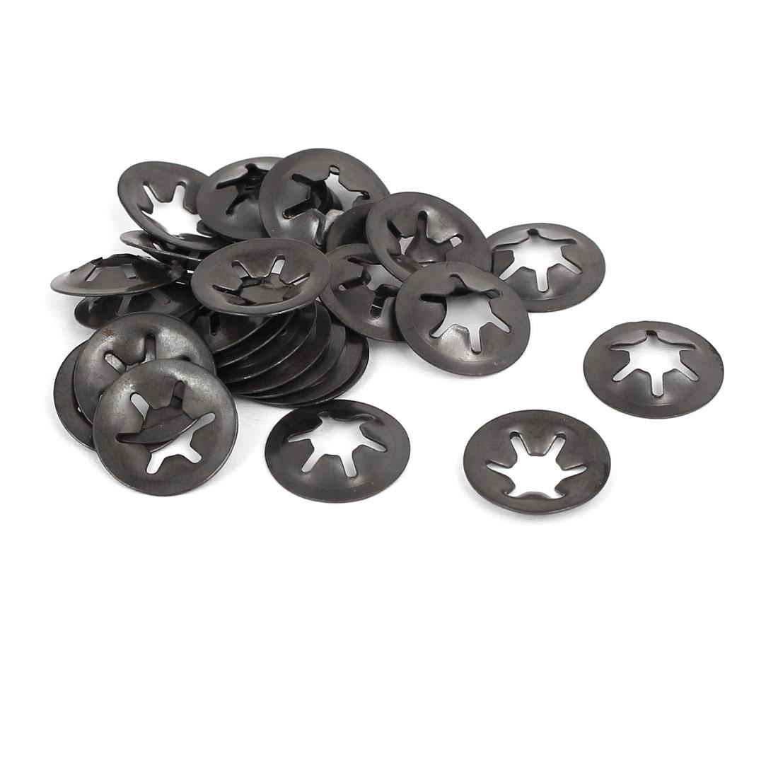 6mm x 16mm Quicklock Starlock Star Speed Lock Locking Washers 30PCS