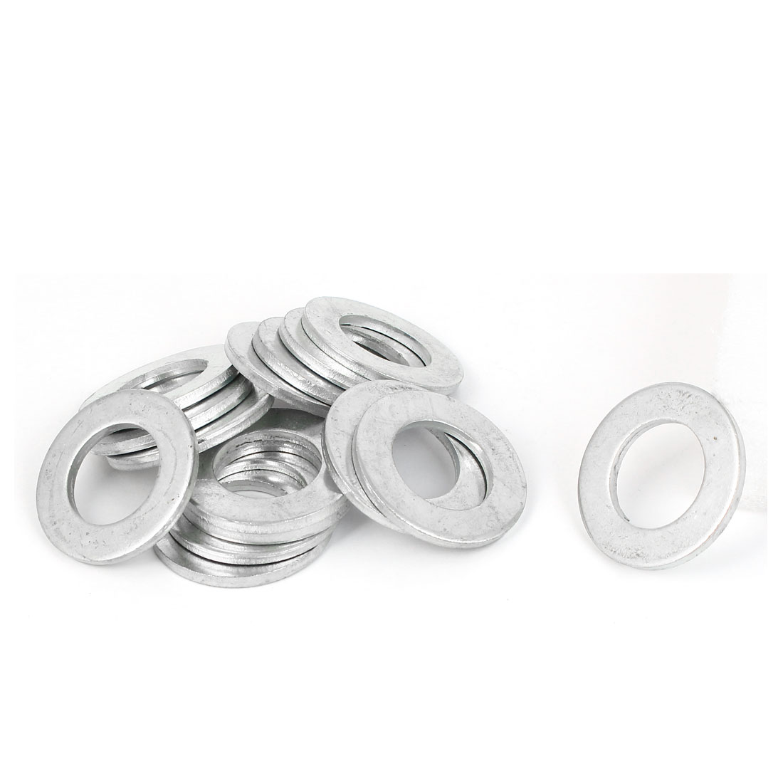 22mm x 38mm x 3mm Zinc Plated Flat Pads Washers Gaskets Fasteners GB97 15PCS