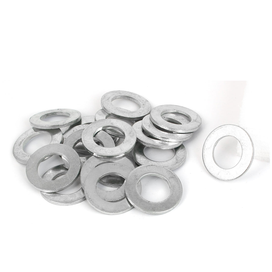 22mm x 38mm x 3mm Zinc Plated Flat Pads Washers Gaskets Fasteners GB97 20PCS