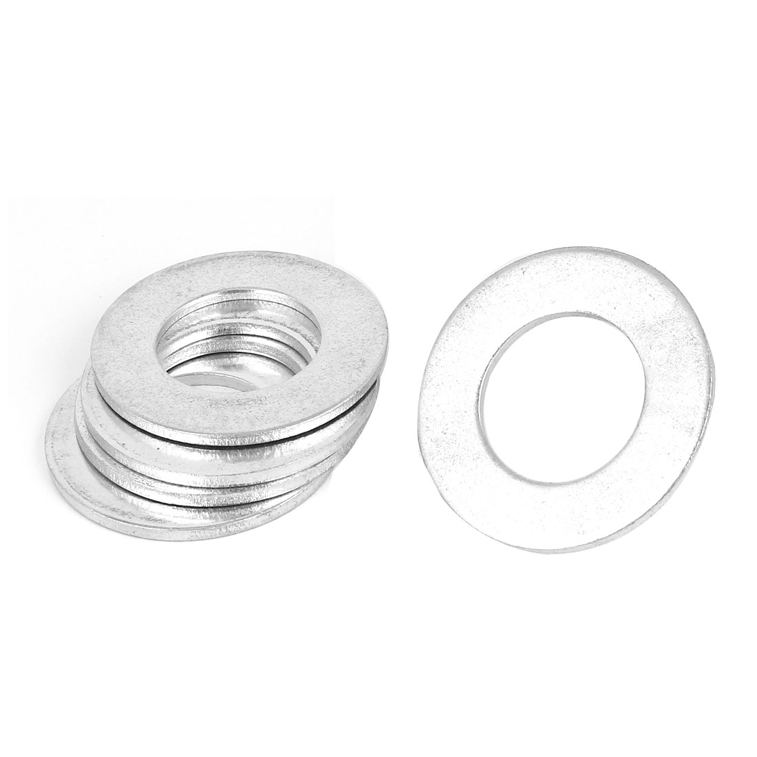 30mm x 54mm Zinc Plated Flat Pads Washers Gaskets Fasteners GB97 5PCS