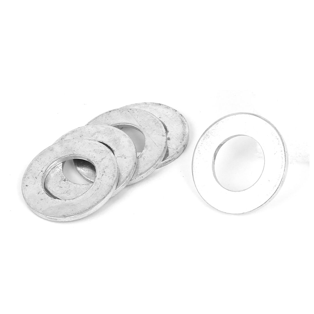 14mm x 28mm x 2mm Zinc Plated Flat Pads Washers Gaskets Fasteners GB97 5PCS