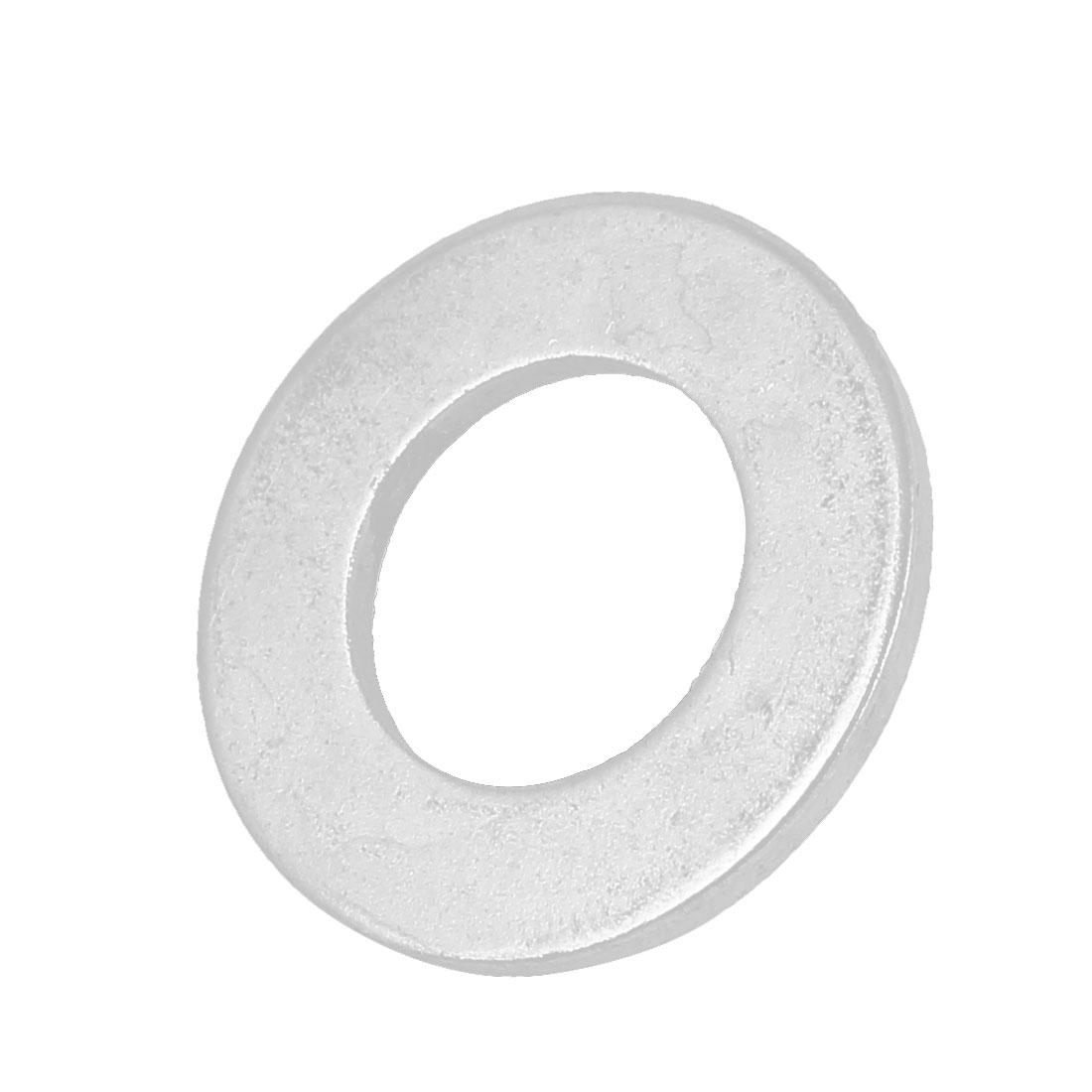 14mm x 28mm x 2mm Zinc Plated Flat Pad Washer Gasket Fastener GB97
