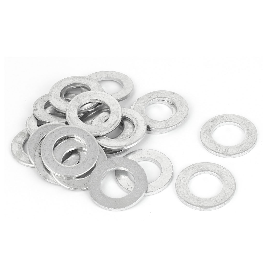 16mm x 30mm Zinc Plated Flat Pads Washers Gaskets Fasteners GB97 20PCS