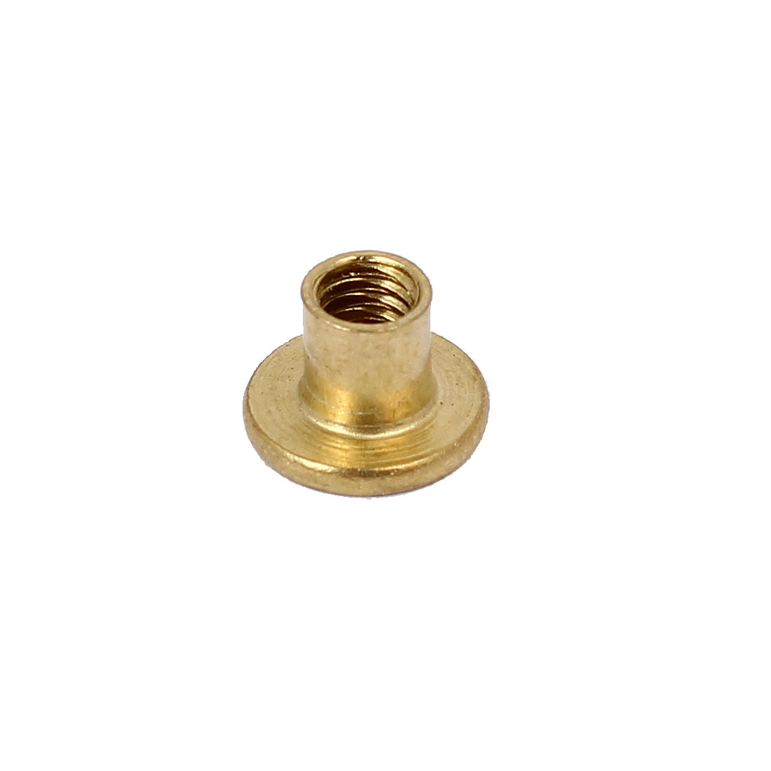 Photo Album Metal Brass Plated Binding Screw Post Barrel Nut 5mmx5mm