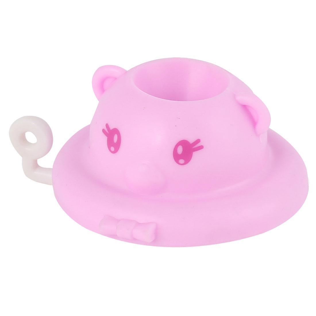 Household Home Kitchen Cartoon Shaped Tap Water Saving Strainer Device Pink