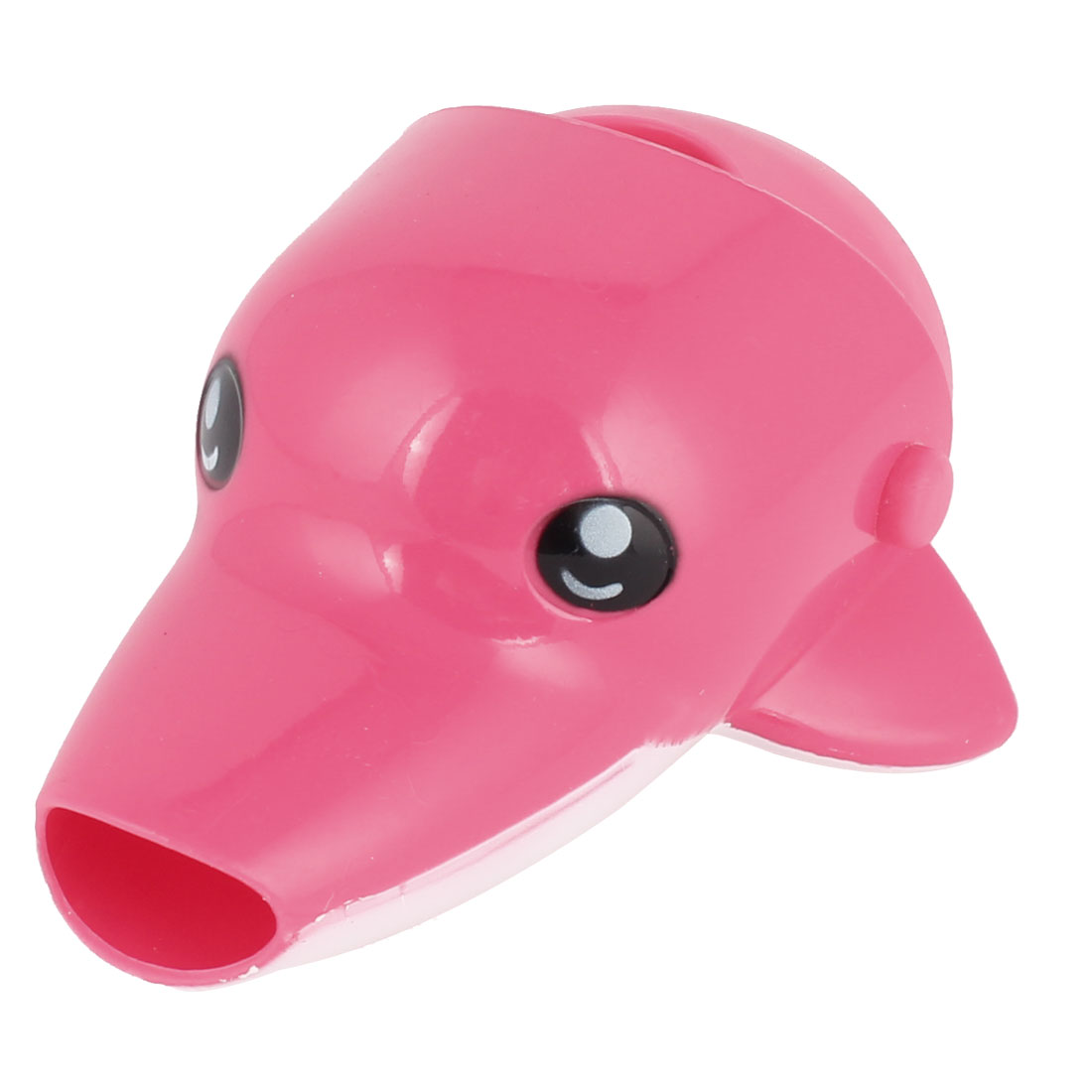 Light Pink Silicone Interface Dolphin Shaped Faucet Extender Hand Washing Tool