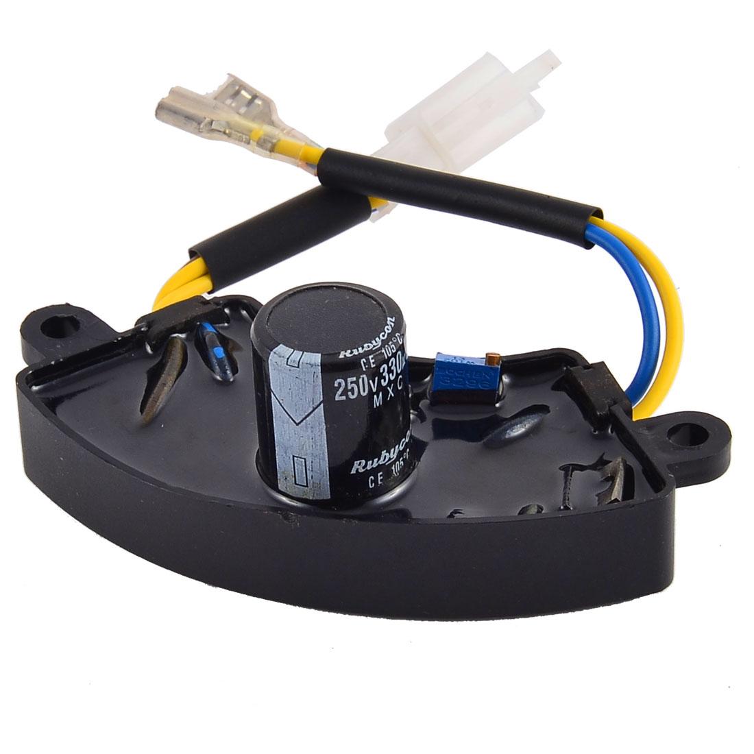Motorbike Automatic Voltage Generator Regulator Rectifier AVR Petrol 330uF 250V