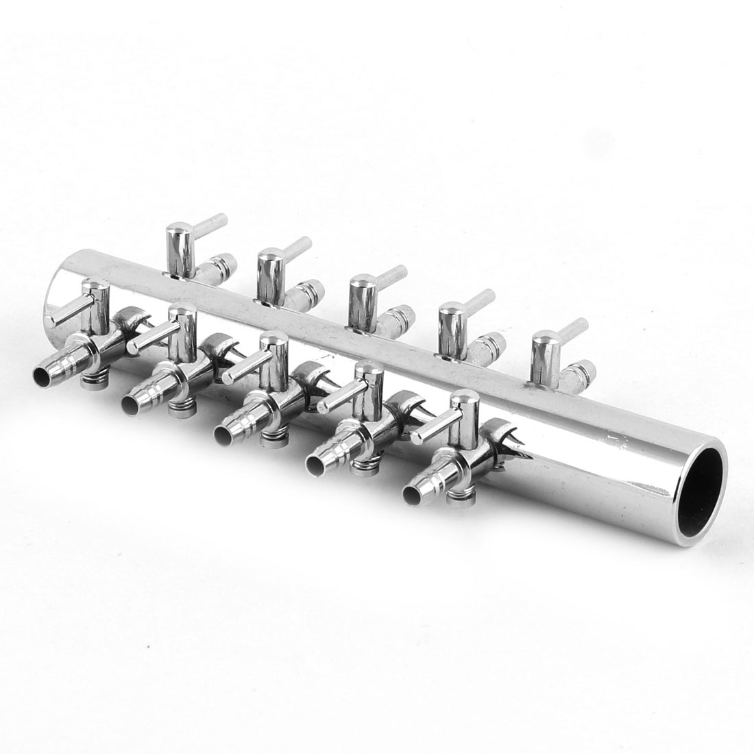 Stainless Steel 10 Way Outlet Water Air Flow Control Valve for Aquarium Fish Tank