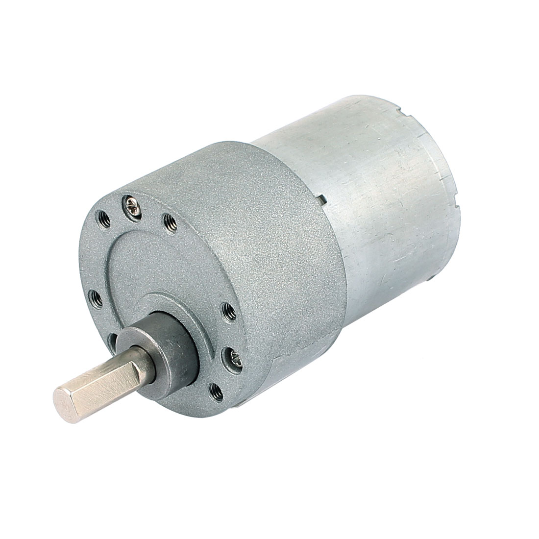 DC 12V 420RPM 6mm Shaft Dia Repairing Part Electric Geared Motor 37GB