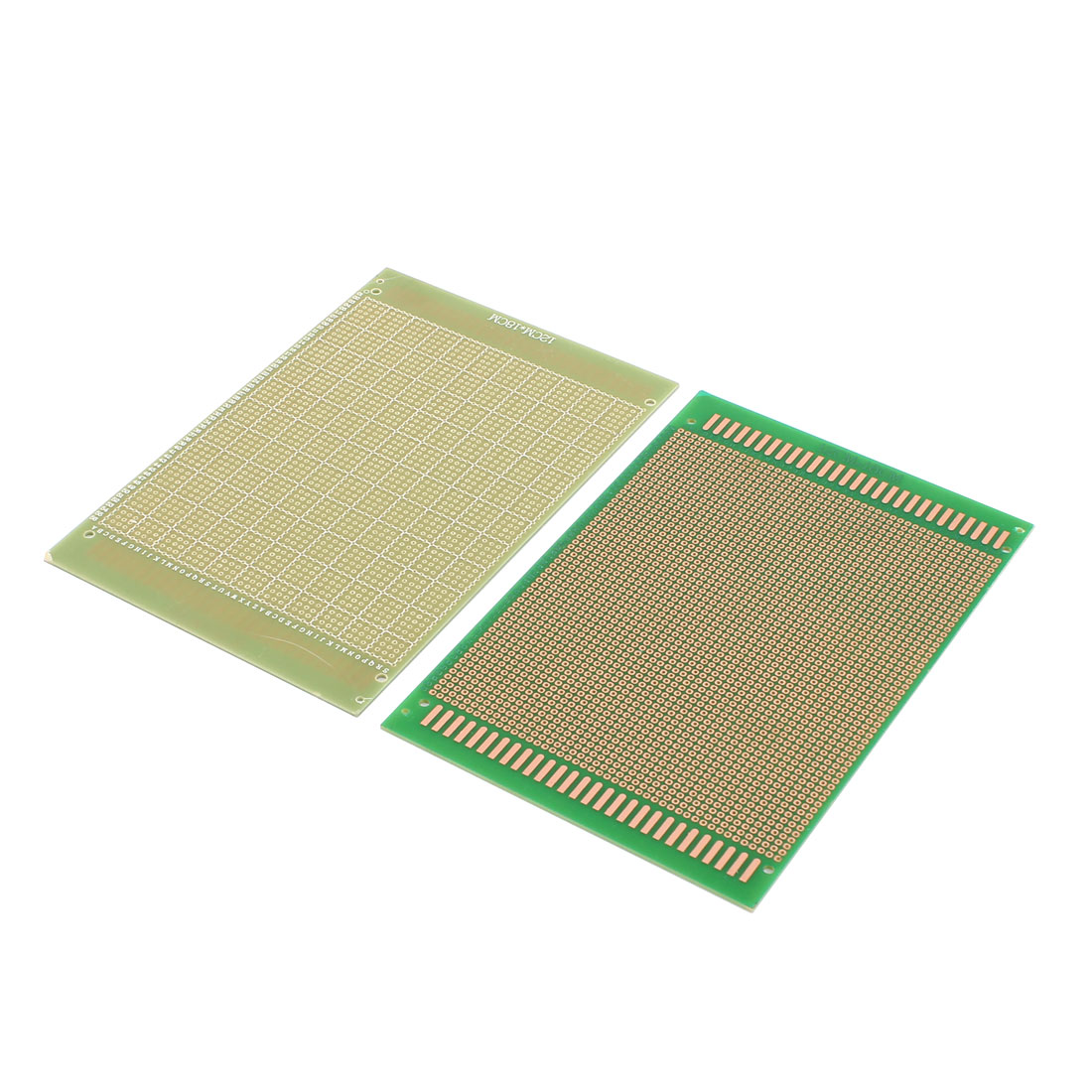 2pcs 18cm x 12cm Rectangle Single Sided Universal DIY Prototyping Paper PCB Print Circuit Board