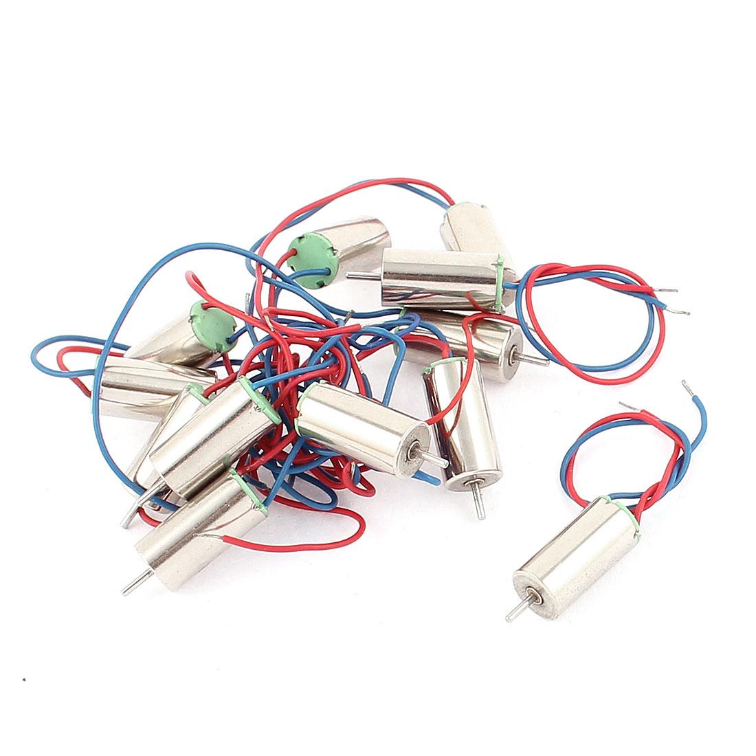 12 Pcs DC 6V 5000RPM High Torque Mini Micro Vibration Motor 6x12mm
