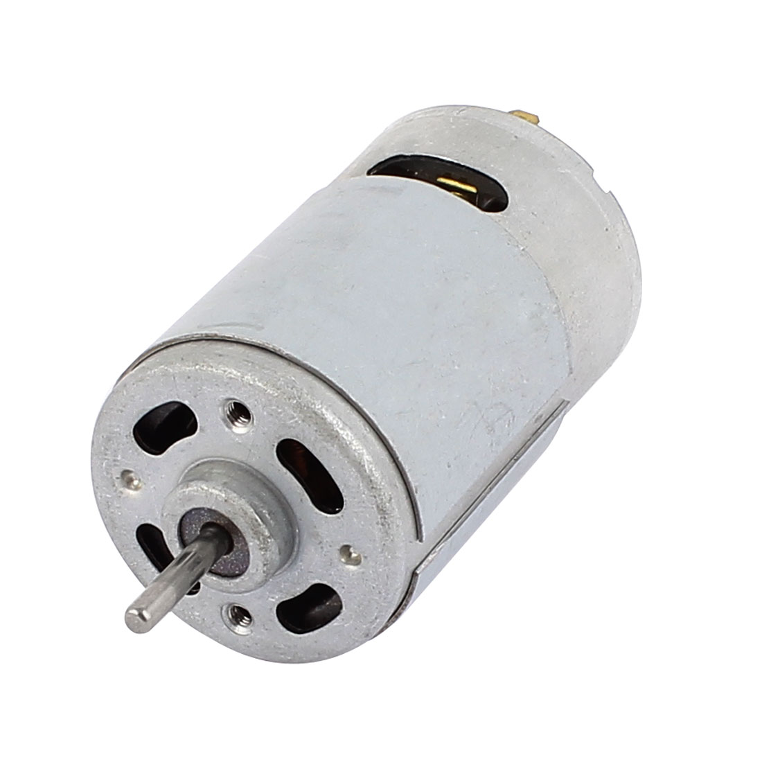 DC12V 6000RPM High Torque 3mm Dia Shaft Magnetic Cylinder Electric DC Motor