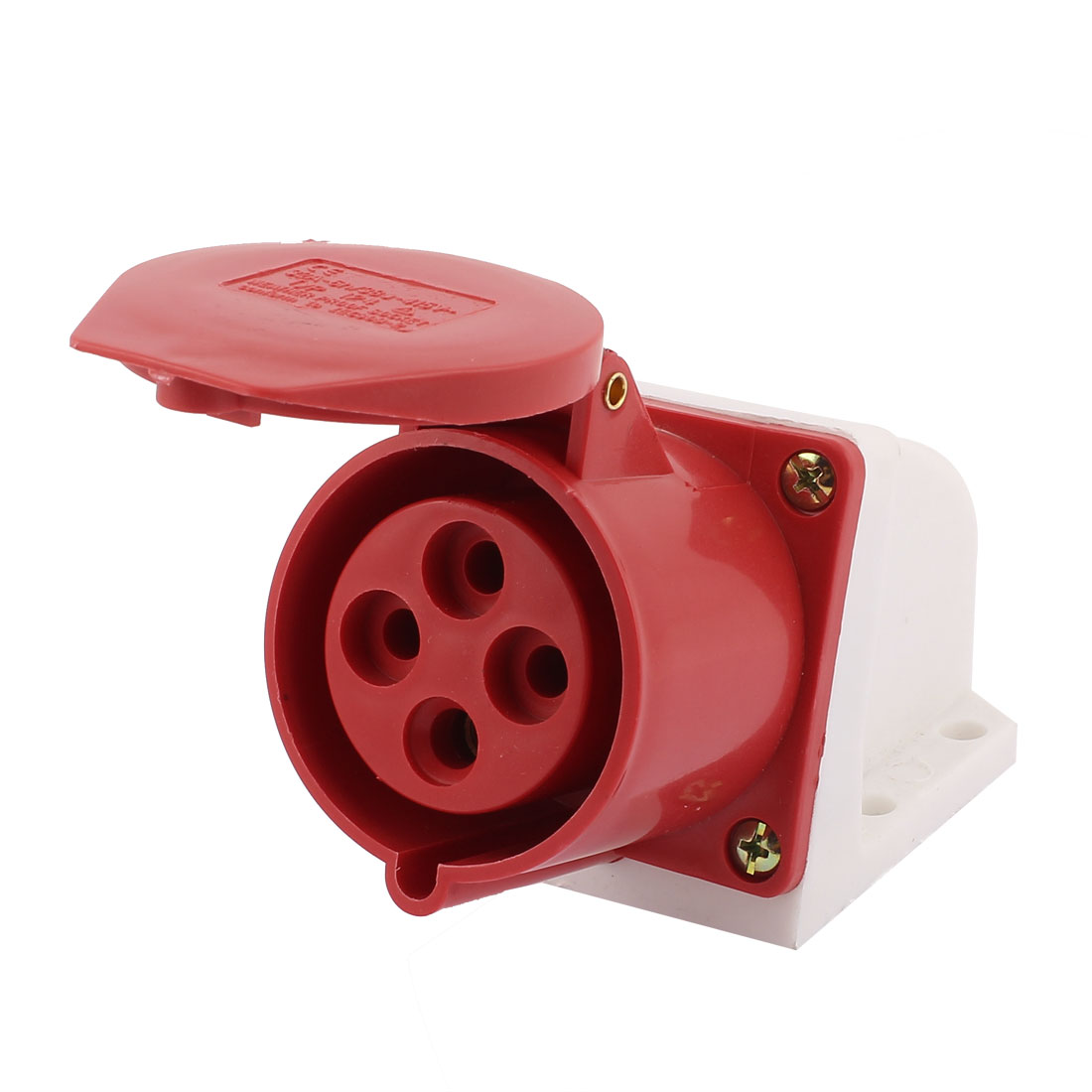 AC 380V-415V 32A IP44 3P+E 4P Female Industrial Caravan Waterproof Socket