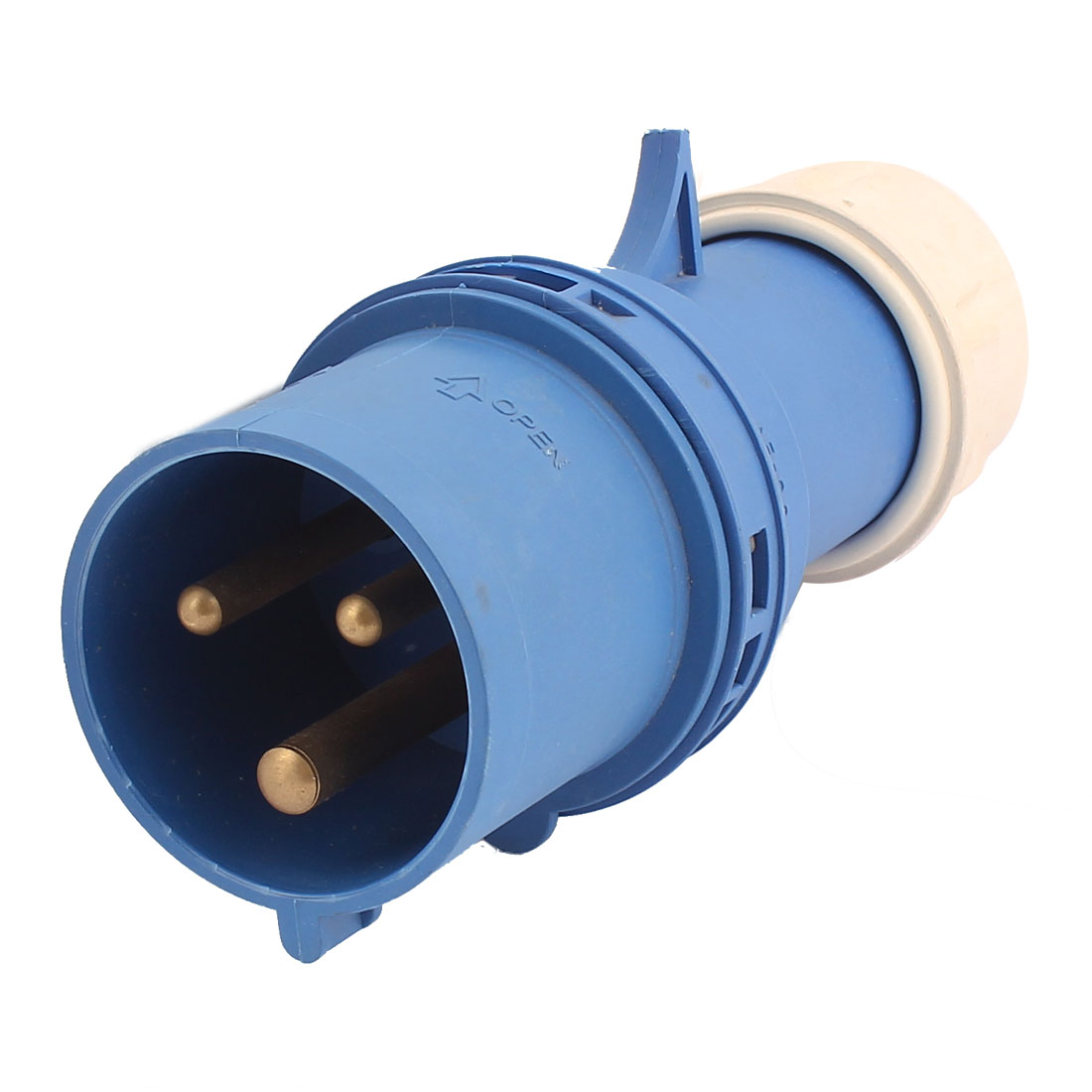 AC 200V-250V 32A IP55 2P+E 3-Terminal Male Industrial Electrical Plug
