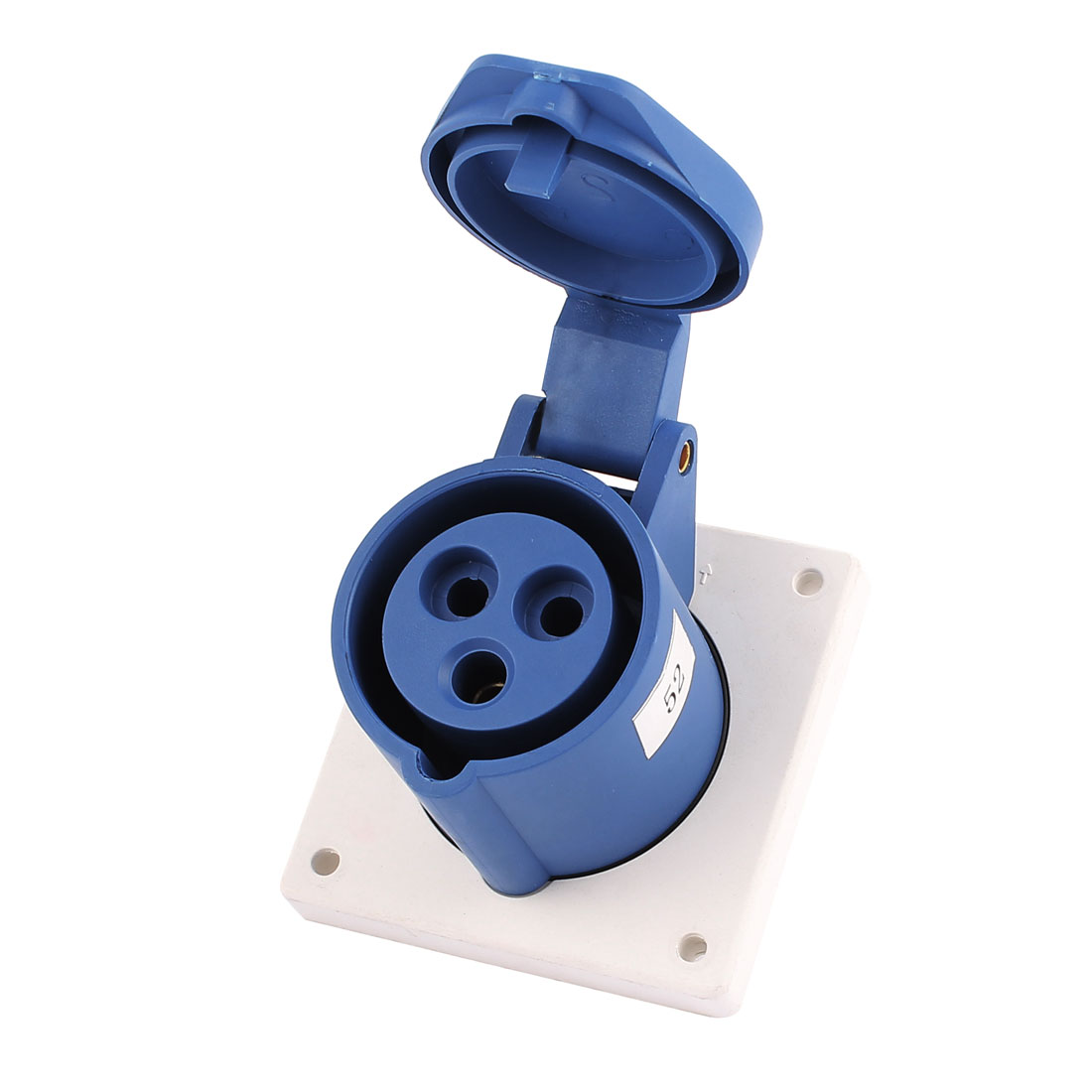 AC 220V-250V 16A IP44 2P+E 3P Female Industrial Consealing Straight Socket