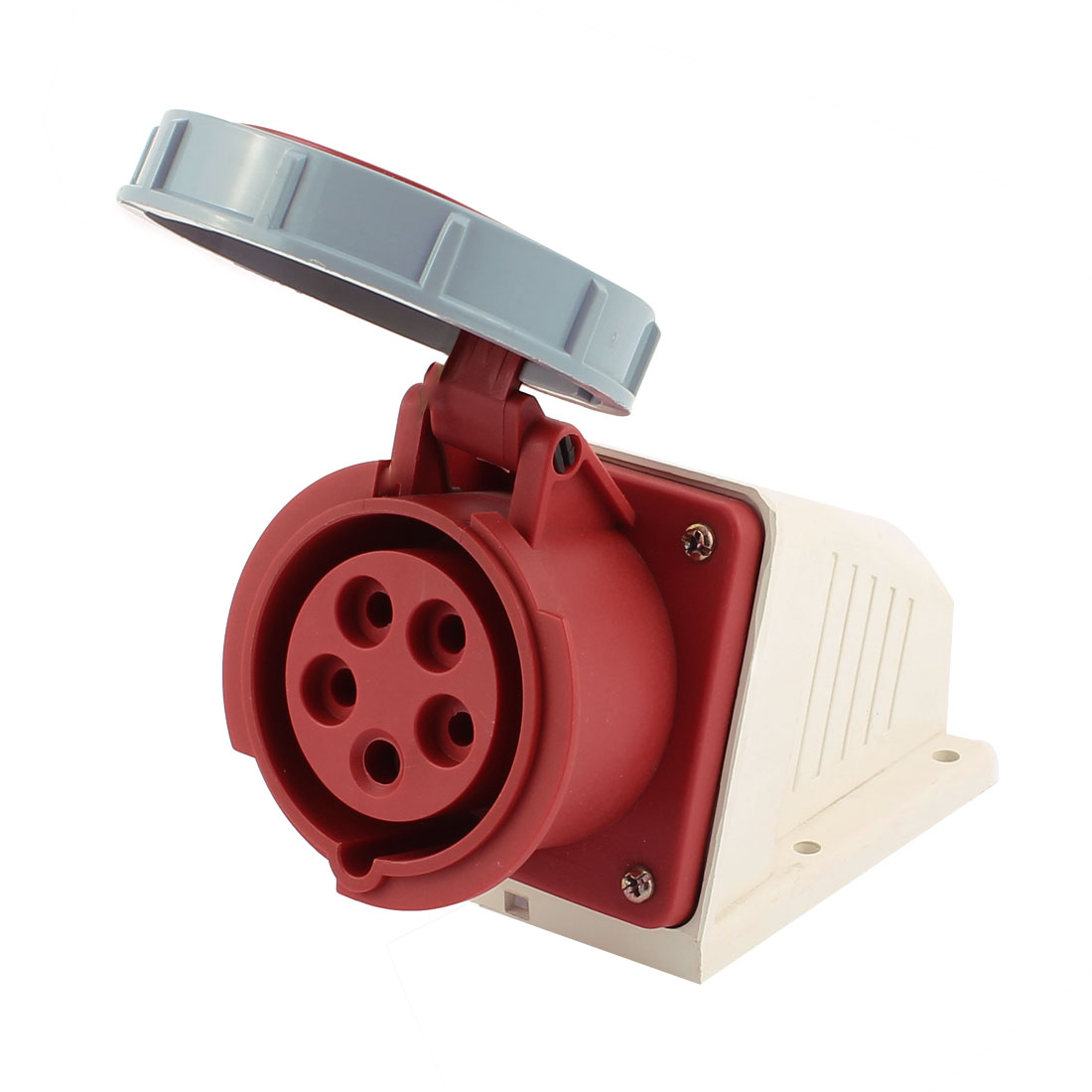 AC 220V-415V 16A IP67 3P+N+E 5P Female Industrial Caravan Socket