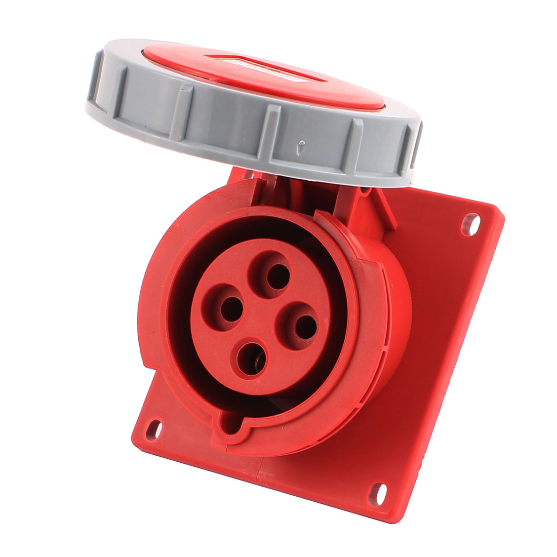 AC 380V-450V 32A IP67 3P+E 4P Female Industrial Consealing Oblique Socket