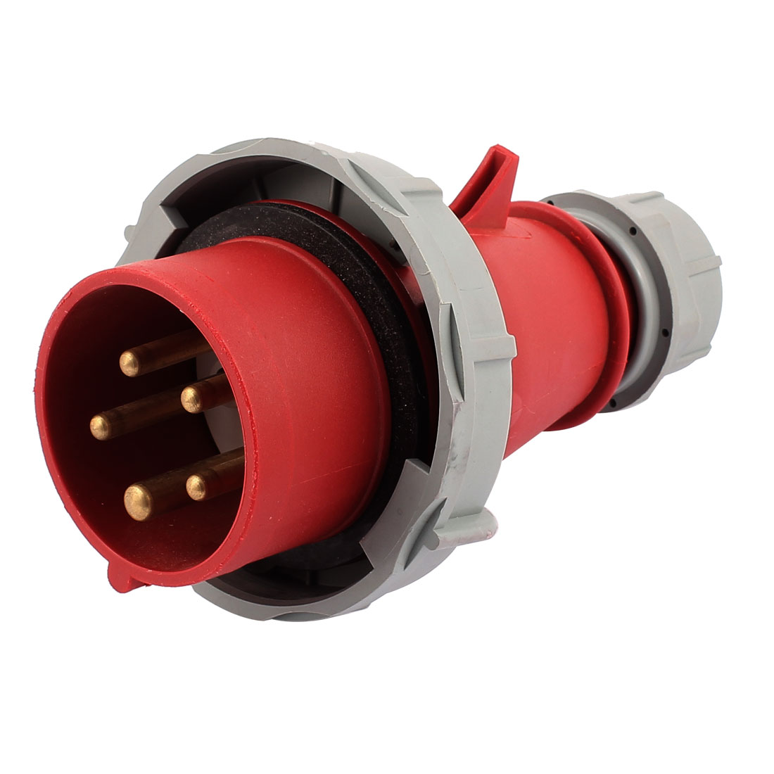 AC 240V-415V 16A IP67 3P+N+E 5-Terminal Male Industrial Electrical Plug