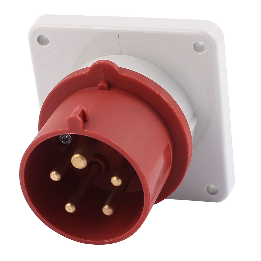 AC 240V-415V 16A IP44 3P+N+E 5 Terminal Male Industrial Panel Mounting Plug