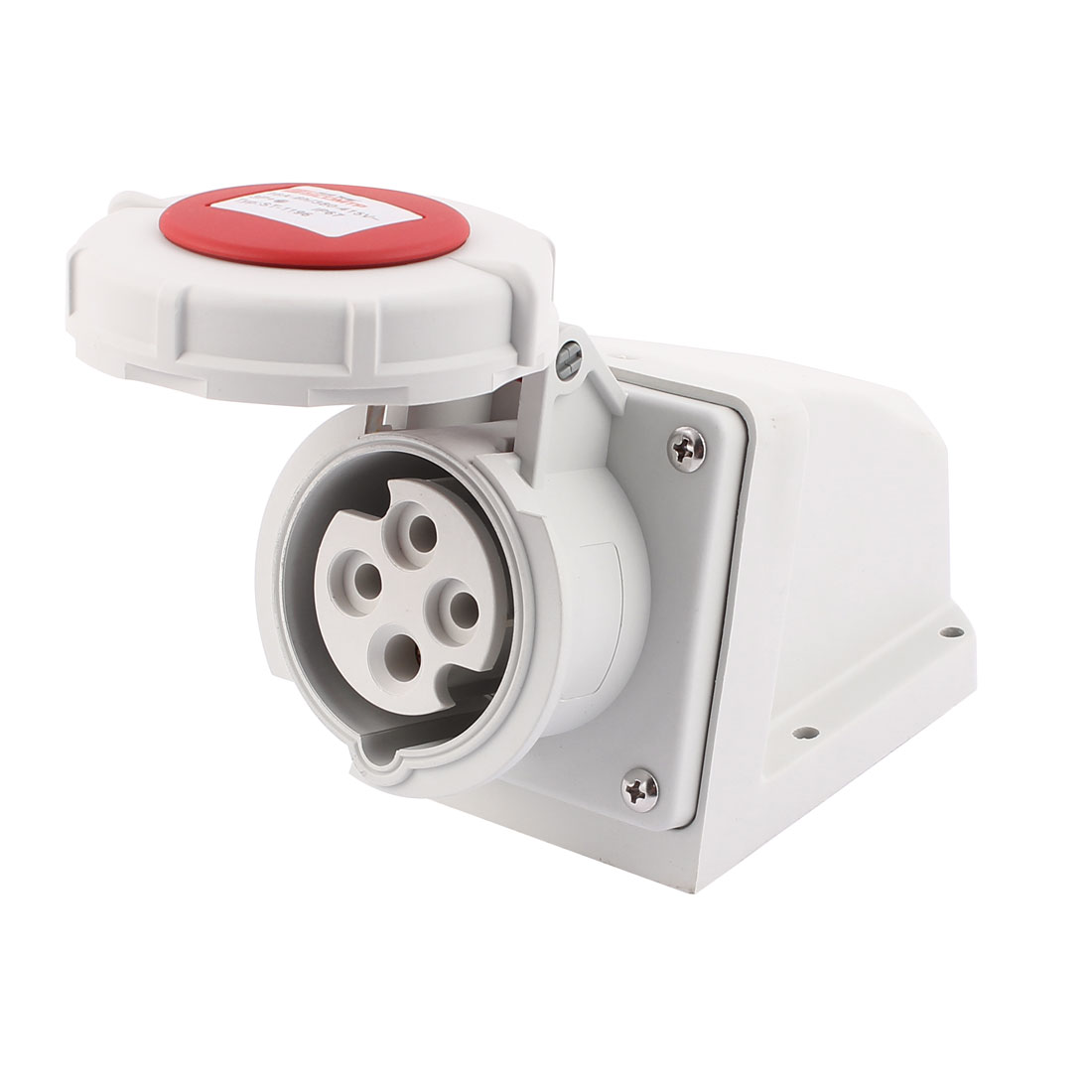 AC 380V-415V 16A IP67 3P+E 4-Terminal Female Industrial Caravan Socket