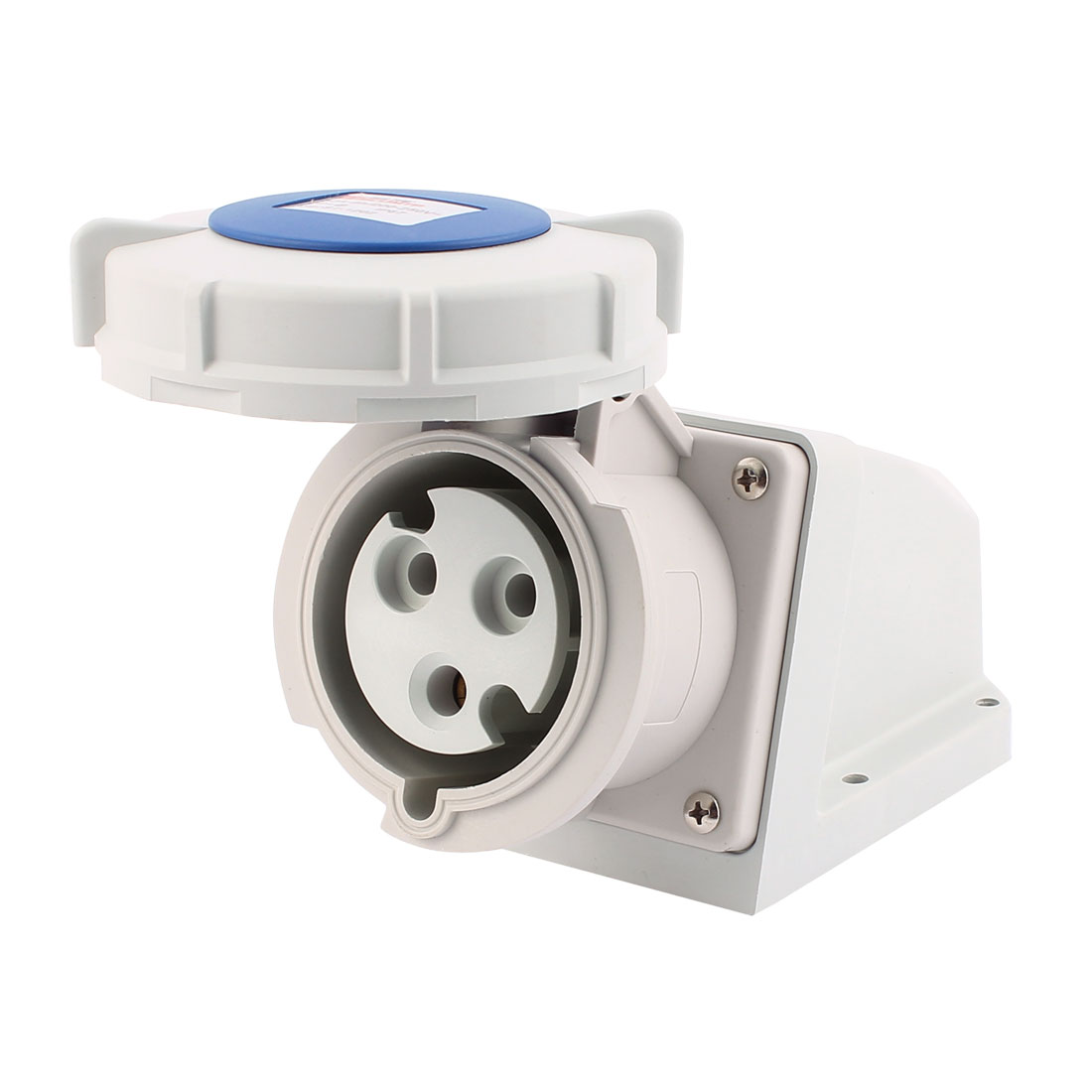AC 200V-250V 32A IP67 2P+E 3-Terminal Female Industrial Caravan Socket